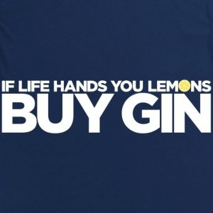 lemons and gin